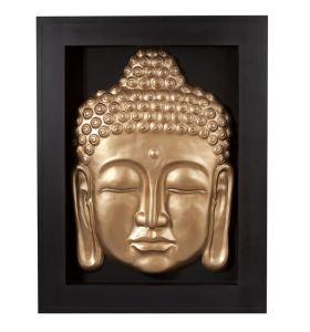 Buddha frame gold
