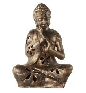 Buddha sitting lamp