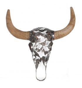 Buffalo head natural N3