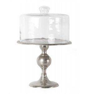 Cake plate glass