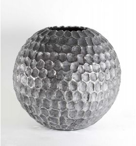 Golf ball vase zilver