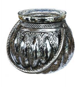 Theelicht Antiek Zilver