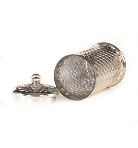 Voorraadpot zilver