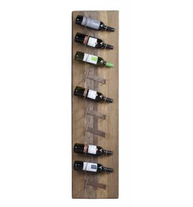 Decoration winerack 10 bttl with oak