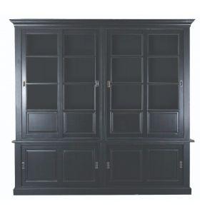 Buffetkast Tapanui zwart  4 deurs